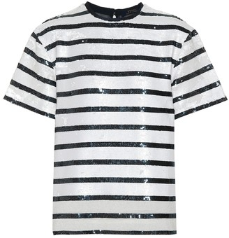 Polo Ralph Lauren Striped sequined T-shirt
