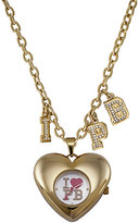 Pauls Boutique Trixie Gold-Plated Pendant Watch