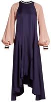 Roksanda Vasara bi-colour silk-crepe dress