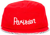 MAISON KITSUNÉ 'parisien' embroidered cap - unisex - Cotton/Polyester - One Size