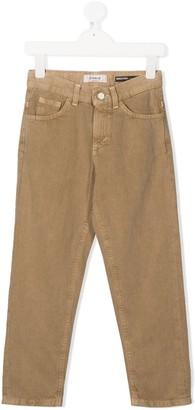 Dondup Kids slim-fit trousers
