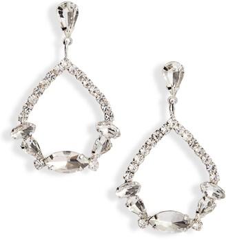 CRISTABELLE Fancy Crystal Teardrop Earrings