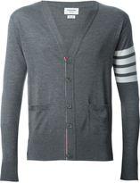 Thom Browne striped sleeve cardigan - men - Wool - 00