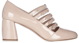 Miu Miu Multi-strap patent-leather mid-high pumps
