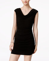 Amy Byer Ruched Bodycon Beaded Dress
