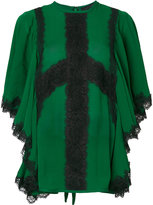 Elie Saab lace insert blouse