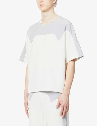 Pieces Uniques Arrow relaxed-fit stretch-jersey T-shirt