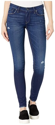 Hudson Krista Mid-Rise Super Skinny in Cross Out (Cross Out) Women's Jeans