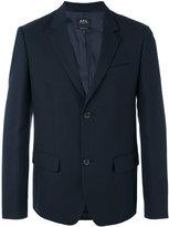 A.P.C. two button jacket - men - Cotton/Polyamide/Viscose - M