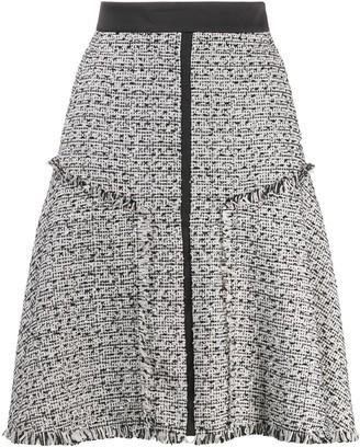Karl Lagerfeld Paris A-line boucle skirt