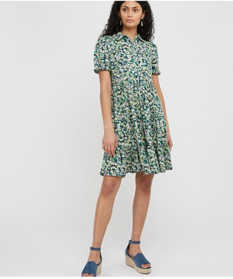 Monsoon Reese Short Jersey Dress - Navy