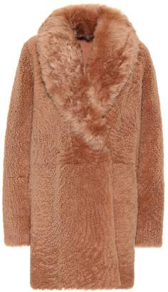 Yves Salomon Meteo reversible shearling coat