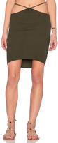 Indah Bridgette Cutout Mini Skirt