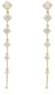 Fernando Jorge Sequence Diamond & 18kt Yellow Gold Earrings - Gold