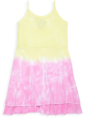 Chaser Little Girl's & Girl's Tie-Dye Dress