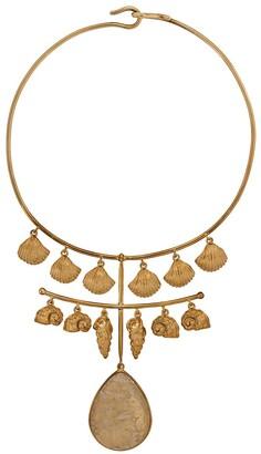 Aurelie Bidermann Panama quartz necklace