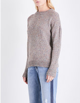 MiH Jeans Twister knitted cotton-blend jumper