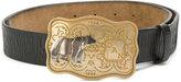 DSQUARED2 bear buckle belt - men - Leather - 85