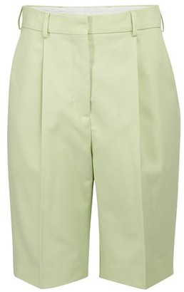 Acne Studios High waist Bermuda shorts