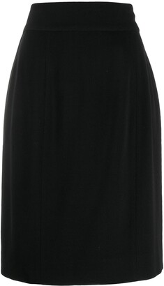 Chanel Pre Owned 1990's Classic Pencil Skirt