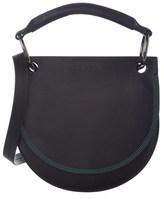 Marni Saddle Leather & Suede Shoulder Bag.