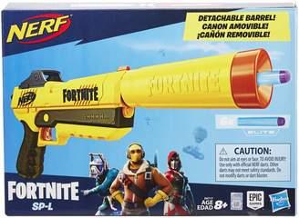 D+art's Nerf Fortnite SP-L Elite Dart Blaster with Detachable Barrel Elite Darts