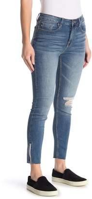 Vigoss Ace Ankle Zip Skinny Jeans