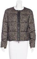 Moncler Aurone Bouclé Coat w/ Tags