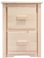 Abella File Cabinet 2 Drawer Loon Peak Finish: Lacquered