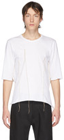 Sulvam White Darts T-Shirt