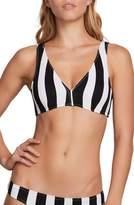 Volcom Stripe Club Halter Bikini Top
