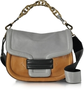 Pierre Hardy Multi Grey Grainy Leather Alphaville Shoulder Bag