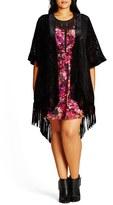 City Chic Plus Size Women's Kimono 1969 Wrap