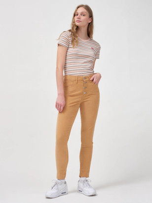 Levi's 721 Corduroy High Rise Button Front Skinny Women's Pants