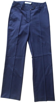 Christian Dior Navy Wool Trousers