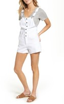 Rag & Bone Women's Lou Short Overalls