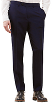 Jigsaw Ottoman Woven In Italy Slim Suit Trousers, Navy