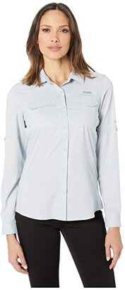 Columbia Lo Dragtm Long Sleeve Shirt (Tiki Pink) Women's Long Sleeve Button Up