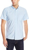 Izod Uniform Young Men's Short Sleeve Oxford Shirt