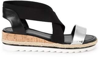 Nine West Molly Crisscross Wedge Sandals