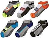 Jefferies Socks Sporty Low Cut 6-Pack Boys Shoes