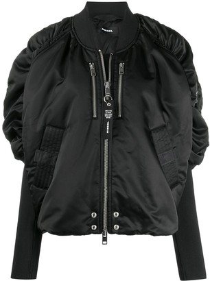 Diesel Ruched Puffer Jacket
