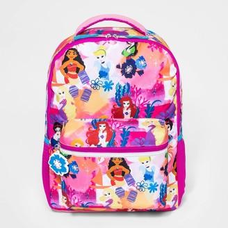"""Disney Diney Prince Watercolor 16"""" Kid' Backpack"""