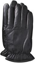 Johnston & Murphy Microfleece-Lined Leather Gloves
