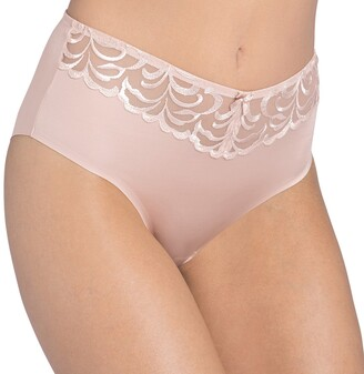 Triumph Maxi Modern Finesse Maxi Knickers in Embroidered Tulle