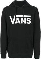 Vans logo print hoodie