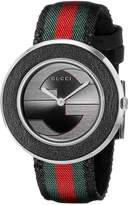 Gucci Women's YA129444 U-Play Collection Analog Display Swiss Quartz Multi-Color Watch
