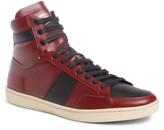 Saint Laurent Men's Sl/10H Signature Court Classic High-Top Sneaker