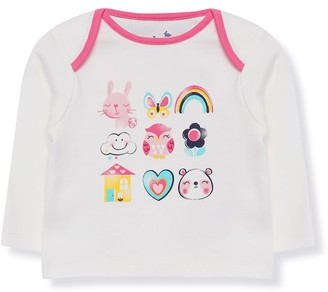 M&Co Rainbow animal t-shirt (Tinybaby-18mths)