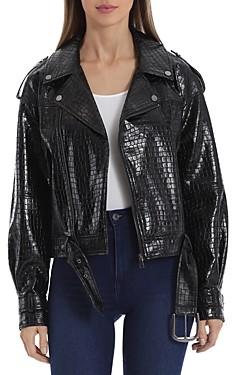 BAGATELLE.NYC Bagatelle. nyc Faux Leather Moto Jacket